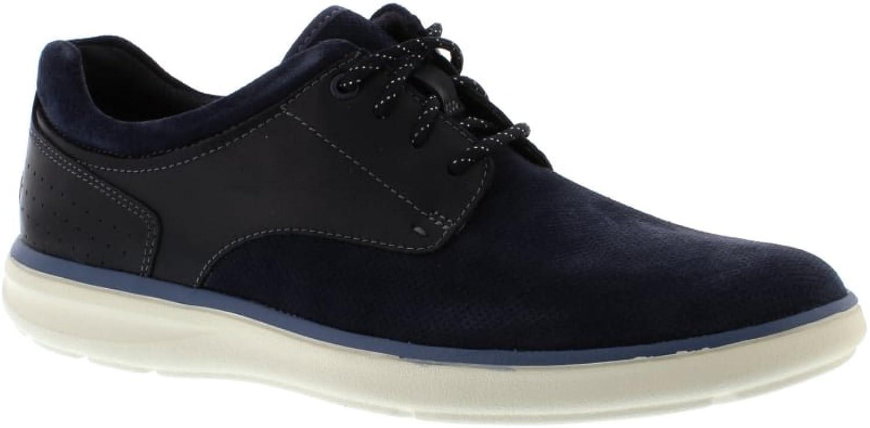 Rockport Zaden Zaden Zaden PT blåcher - Navy läder herr skor 9 Storbritannien  outlet online butik