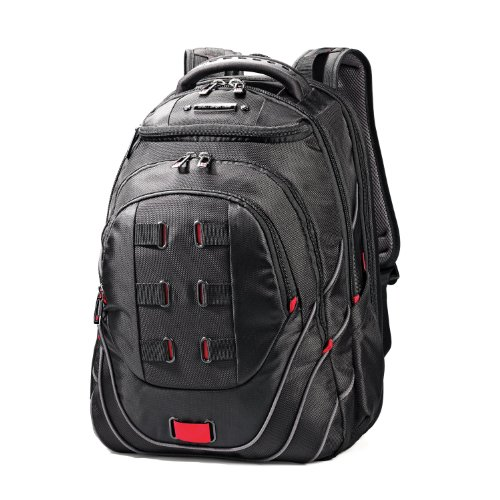 Samsonite Luggage Tectonic 17' Pft Backpack Black/red
