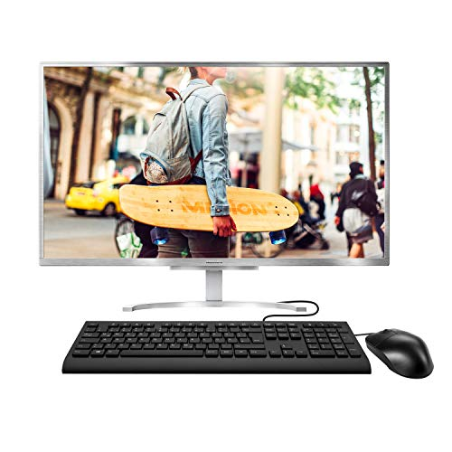MEDION E27401 68,6 cm (27 Zoll) Full HD All in One Desktop Computer (Intel Core i5-1035G1, 8GB DDR4 RAM, 256 GB PCIe SSD, WLAN, Win 10 Home)