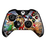 Christmas Dinosaurs - Skin Decal Vinyl Wrap for Microsoft Xbox One Controller - stickers skins cover
