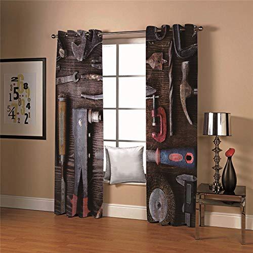 cortinas opacas habitacion 1 pieza