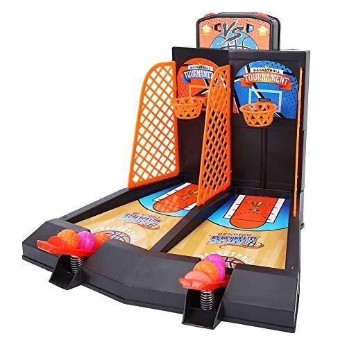 VGEBY1 Tabletop Basketballspiel Spielzeug mit 2 Spielern für Erwachsene, Kinder, Druckentlastendes Spielzeug