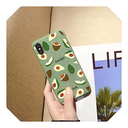 Funda para iPhone 6 11 XS MAX XR X 8 7 Plus, diseño de frutas de verano