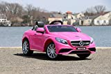 Best GB Kids Electric Cars - First Drive Benz S63 Pink 12v Kids Cars Review