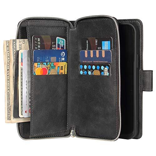 ATOPLE iPhone 12 Pro ケース/iPhone 12 ケース手帳型 カード9枚収納可能 マグネットボタン アイフォン12/ 12 プロ 2020 新型 6.1インチ カバー iPhone12Pro / iPhone12 ケース 財布型 横置き機能