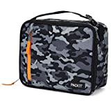PackIt Freezable Classic Lunch Box, Charcoal Camo