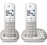 Philips Twin Cordless Phone With Answer Machine