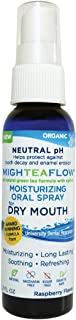 MighTeaFlow Dry Mouth Oral Spray, Organic Neutral pH Green Tea with Xylitol