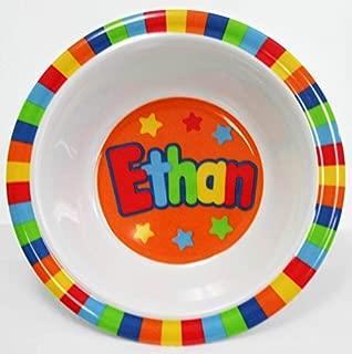 Ethan Set of 2 Bowls - My Name Bowl Ethan