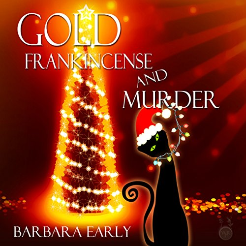 Gold Frankincense and Murder audiobook cover art