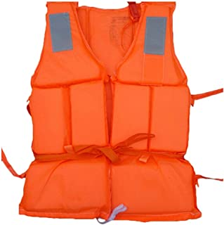 Oulian Chaleco Salvavidas Adulto, Chaleco Salvavidas de Seguridad, Chaleco de Flotación de Natación, Chaleco Salvavidas de Snorkel Unisex Adulto para Nadar Rafting, Kayak de Playa, Trabajo de Rescate