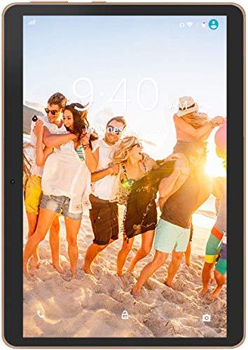 4G LTE Tablette Tactile 10 Pouces Android 9.0 Pie YOTOPT, 64Go, 4Go de RAM Tablette Dual SIM GPS, WiFi, Bluetooth, Type-c (Noir)