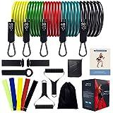AMAZ Banda de resistencia musculación 150 LBS, gimnasio, fitness, deporte y ocio, banda de ejercicio Yoga, gimnasio