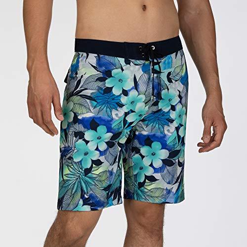 Hurley M Phtm Spray Gun 20' Shorts da Surf, Uomo, Half Blue, 32