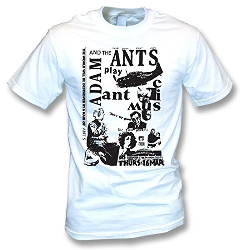 Adam and the Ants Punk Poster T-shirt, M to 3XL