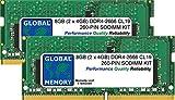 8GB (2 x 4GB) DDR4 2666MHz PC4-21300 260-PIN SODIMM Memoria RAM Kit para 27 Pulgada Retina 5K iMac (2019)