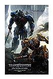 JAZC Puzzles 300/500/1000/1500 Pieza de Madera Puzzle Transformers 5 El último Caballero Optimus Prime Megatron Película (Size : 500P)