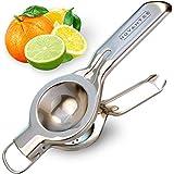 Nuvantee Spremi Limone in Acciaio INOX di qualità Premium, Pressa agrumi, Spremiagrumi per bar, Pressa manuale per succo di Limone e Lime