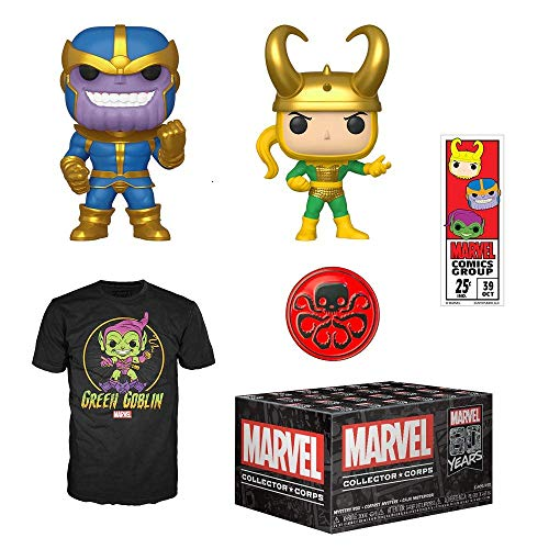 Funko Marvel Collector Corps Subscription Box, Marvel 80th...
