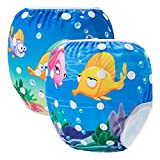 Storeofbaby Swimwear riutilizzabile riutilizzabile di nuoto del pannolino per lezioni di n...