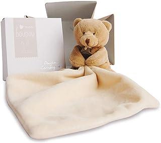 Doudou et Compagnie 302 Teddybär mit Taschentuch, in Gesche
