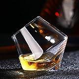 Z-Y Bicchiere di Vino Tazza di caffè Irregolare Wine Glass di Calore Senza Piombo Resistenti Trasparenti Gifts Crystal Beer Whisky Brandy Cup Bicchieri Bar