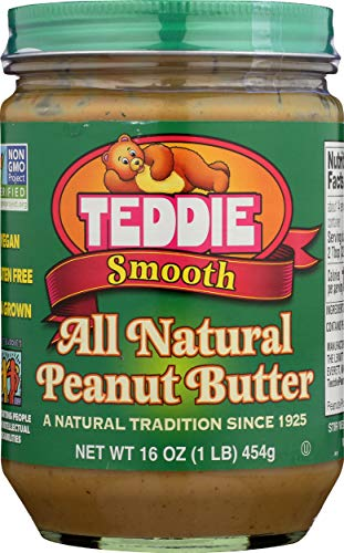 Teddie Smooth Old Fashioned All Natural Peanut...