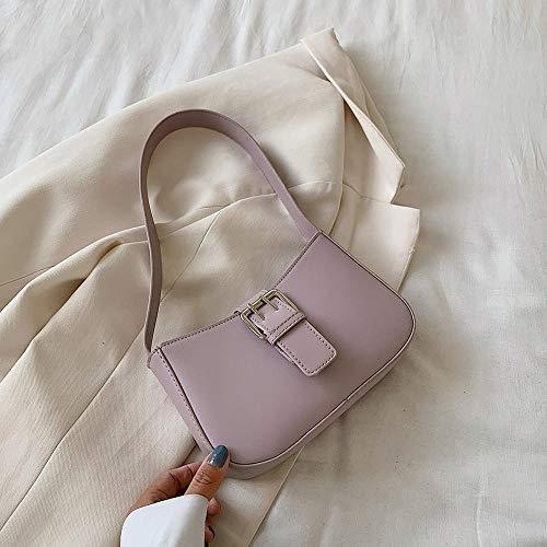 Frauentasche Lila Stein Muster Tasche Damen Kleine Umhängetasche Frauen Mode Handtasche Lila