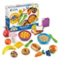 Learning Resources New Sprouts Munch It! Pretend Play Food, Toddler Outdoor Toys, Picnic Playfood, 20 Pieces, Ages 18 mos+ from Learning Resources
