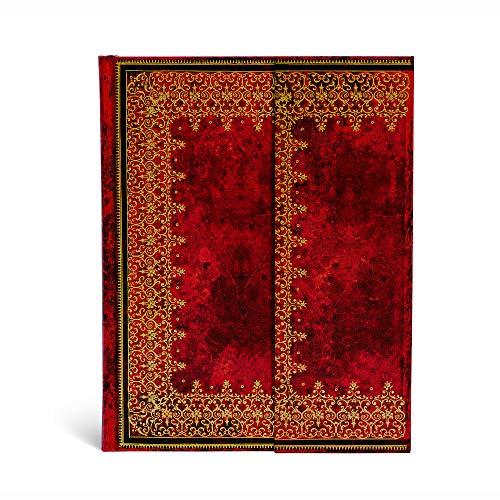 Paperblanks Notizbuch mit Lesebändchen & Innentasche | Gold | Ultra (230 x 180 mm) | 144 Seiten | Liniert