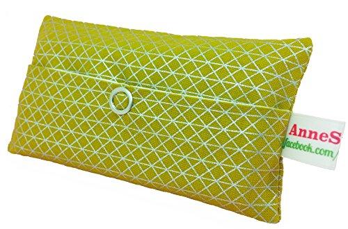 Zakdoeken tas goud geometrie driehoekig design adventskalender vulling kabgeschenk cadeautje give away medewerkers Kerstmis