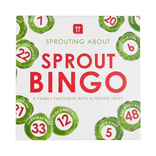 Talking Tables Christmas Sprout Bingo - A Fun Xmas Version of this Traditional Family Game