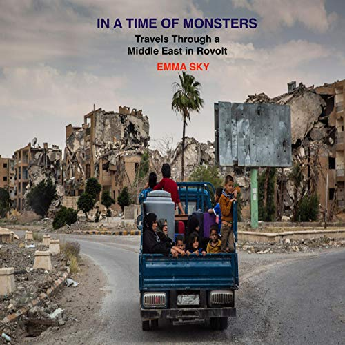 In a Time of Monsters audiobook cover art