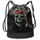 hgdfhfgd Palms and Clear Sky Scene Basketball Drawstring Bag Backpack Bundle Backpack Portable 12555