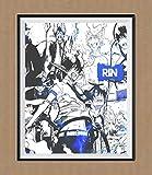 Japanischer Manga Anime Dämon Satan of Rin Okumura Ao no