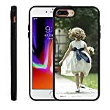 Moonlove Personalized Custom Case for iPhone 7 Plus/8/8 Plus/X, Create Your Own Photo Picture Cellphone Case Soft Thin TPU PC Rubber Shock Absorbing Protector Bumper Cover Case, Birthday