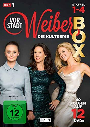 Vorstadtweiber: Staffel 1-4 Box [12 DVDs]