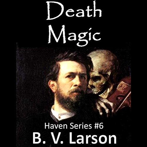 Death Magic audiobook cover art