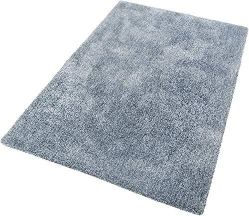 ESPRIT Relaxx Moderner Markenteppich, Polyester, Dusty Blau, 170 x 120 x 2.5 cm
