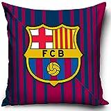 FC Barcelona Kissen Bordeaux Blau 40cm x 40cm Fußball-Fan Primera Divisio FCB Messi ter Stegen Camp...