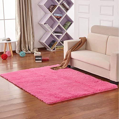 Zmymzm Faux lamsvel schapenvacht tapijt pluizig zacht imitatiewol carpet longhair bont look gezellig schapenvell bedmatje bank mat