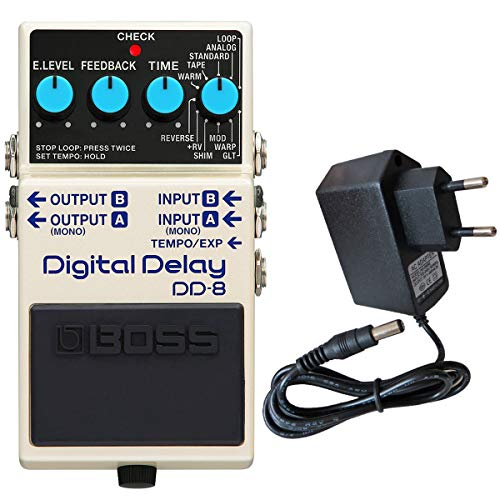 Boss DD-8 Digital Delay Effektgerät + keepdrum Netzteil