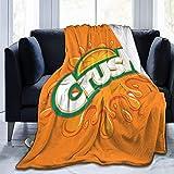 DJNGN Mantas Suaves y cómodas Orange Crush