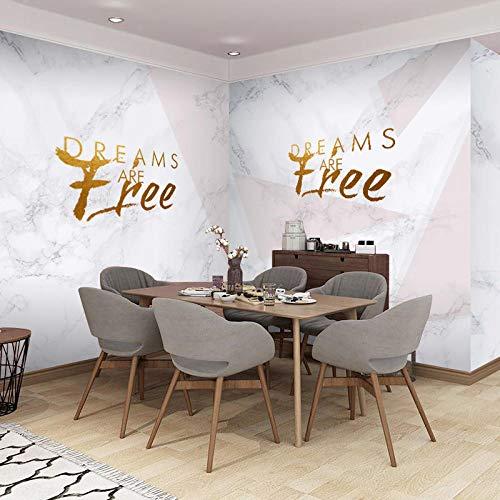 Fototapete 3D Effekt Dekoration Wohnung Modern Wandtattoo Poster Bilder Netto Rot Schönheit Nail Shop Logo Hintergrund Wandkunst Geometrische Nordische Nachahmung Marmor Wandverkleidung
