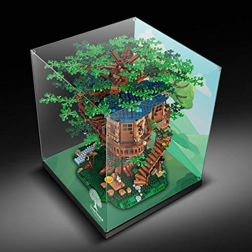 DAN DISCOUNTS Vitrina acrílica para Lego Tree House 21318 (sin modelo Lego)
