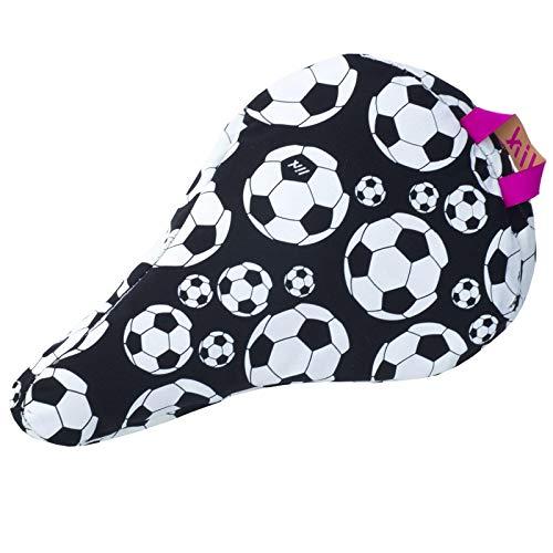 Liix Kinder Sattelbezug Saddle Cover Kids, Fußball, LFSBKids