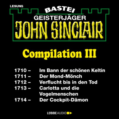John Sinclair Compilation III audiobook cover art