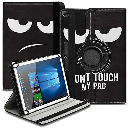 Tasche Hülle kompatibel für Archos 101b Oxygen Tablet Cover Schutz Hülle Schutzhülle 360° Drehbar, Farbe:Motiv 6