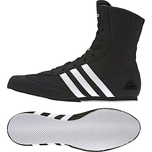 adidas Herren Box Hog 2 Fitnessschuhe, Schwarz FTWR White/Core Black, 38 2/3 EU