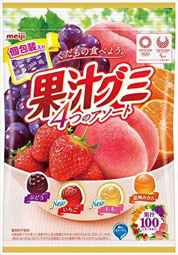 果汁グミ アソート 個包装 6個